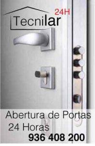 Empresa de Abertura de Portas Urgentes - Técnico de Abertura de Portas Paços de Ferreira