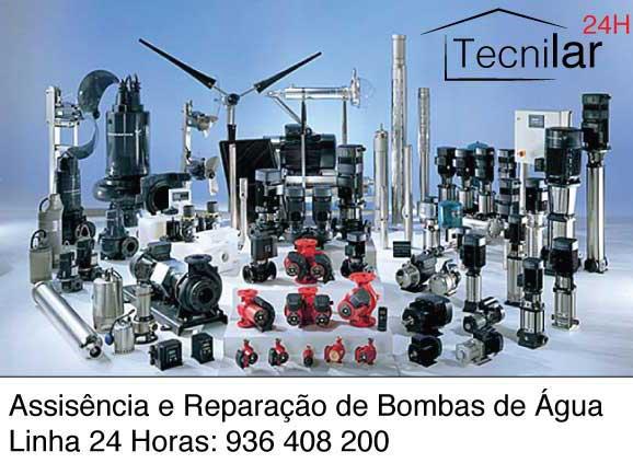 Assistência Bombas de Água