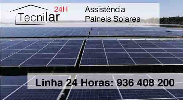 Assistência painéis solares Lisboa