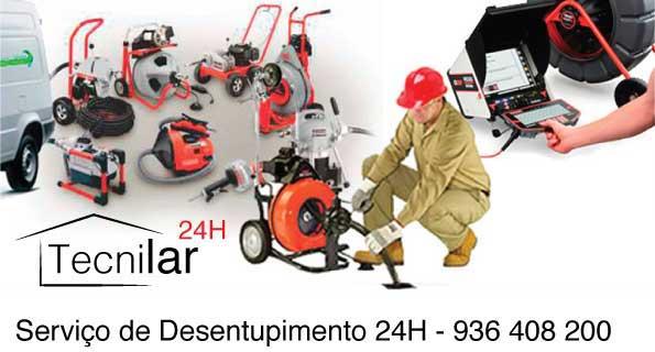 Tecnilar - Desentupimentos Faro - Canalizações, esgotos, Saneamento