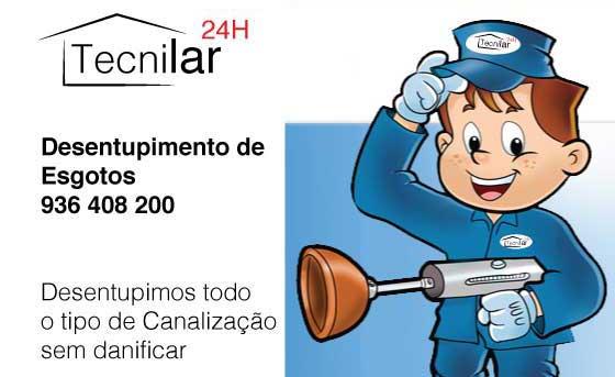 Desentupimentos Ponte de Lima Reparar & Manutenção,  24H,